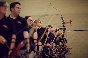 Archery lessons at City Space