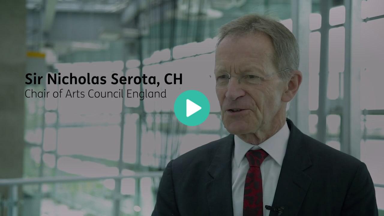 Sir Nicholas Serota, Chair of Arts Council England thumbnail