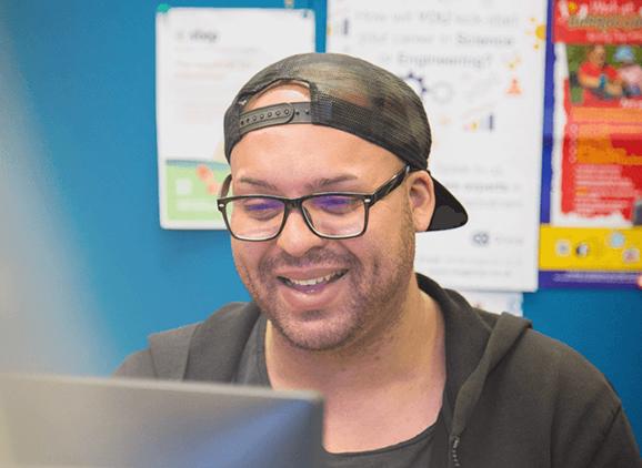 Student blogger Carl Onwochei