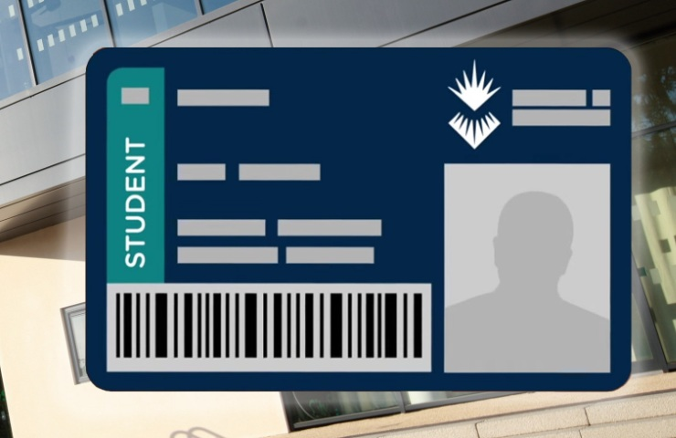 Picture of campus card