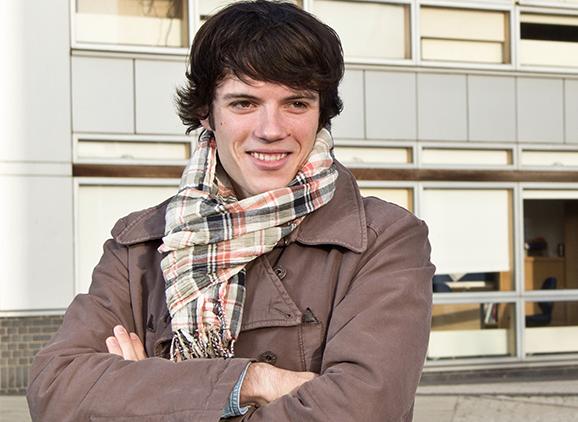 Antony Foulet, Business Management (Top-Up) graduate