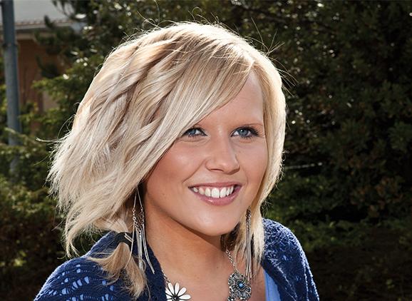 Jenna Spencer, Business and Human Resource Management graduate