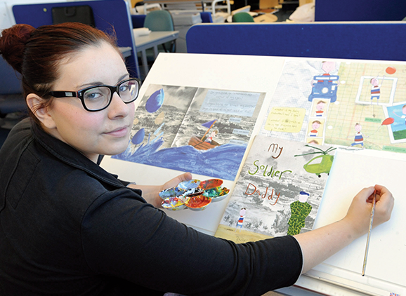 Rachel McKenna, Illustration and Design graduate
