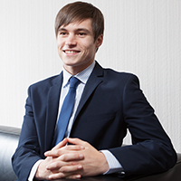 Gavin Teasdale, Law student
