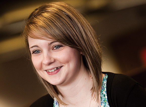 Judith Farrell, Foundation Degree Law student