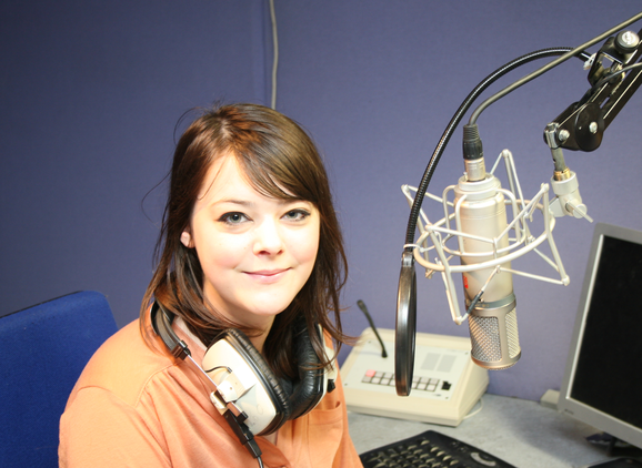 Sarah Harrison, MA Radio graduate