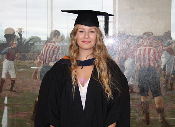 Abbie Wallace BSc Criminology case study
