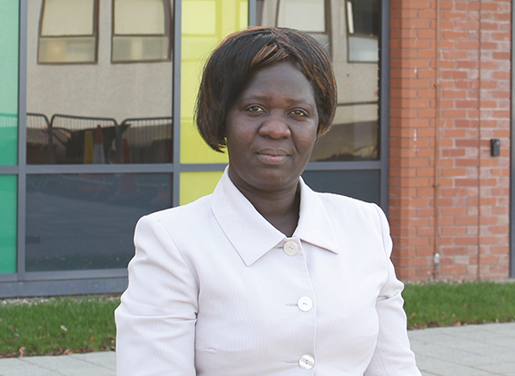 Betty Bizoza, Public Health graduate