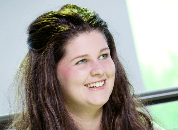 Megan O'Neill, Community and Youth Work graduate