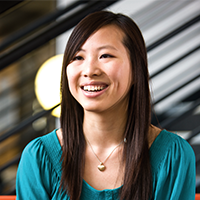 Sherry Wang, Events Management student