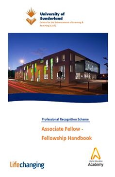 Associate Fellowship handbook cover