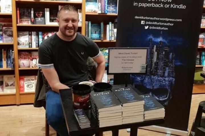David Turton, published author and University of Sunderland member of staff