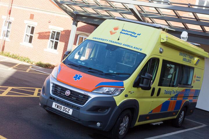 The training ambulance