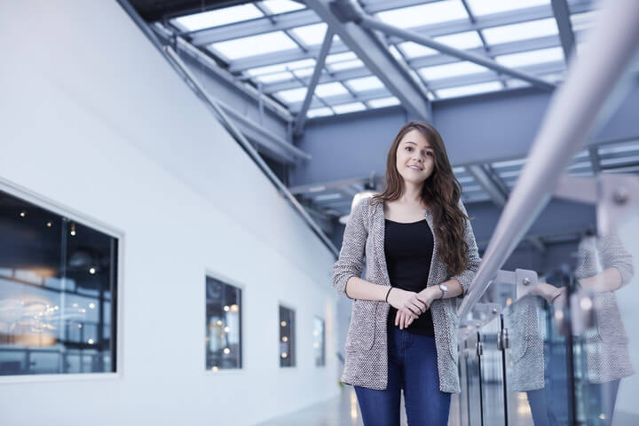 Jessica Duncan, a Business and Management graduate