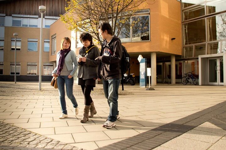 Students at the Reg Vardy Centre, University of Sunderland