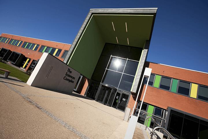Sciences Complex entrance