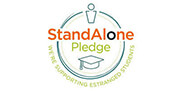 Stand Alone Pledge logo