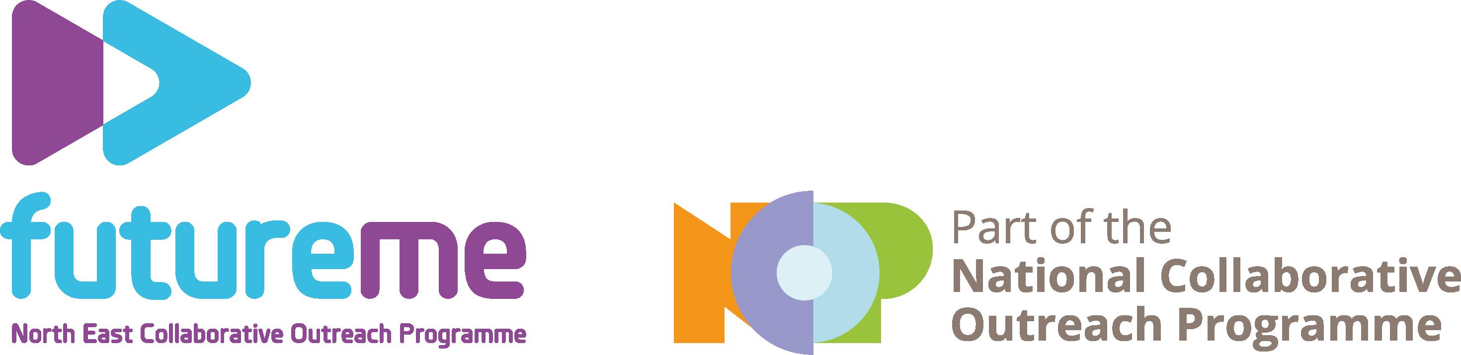 FutureMe Strapline NCOP logo
