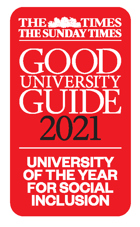 The Times and The Sunday Times logo for University of the Year for Social Inclusivity