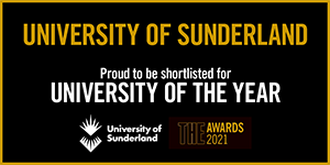 The Times Higher Education THE 2021 Awards logo