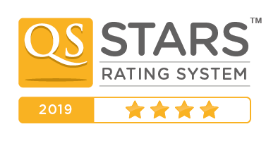 QS stars 4 star overall rating