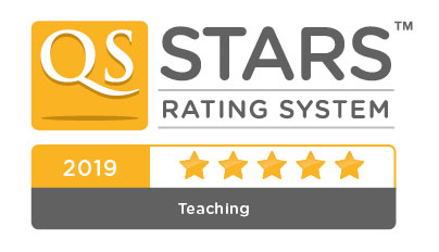 QS Stars 5 star teaching