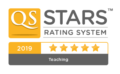 QS stars teaching badge