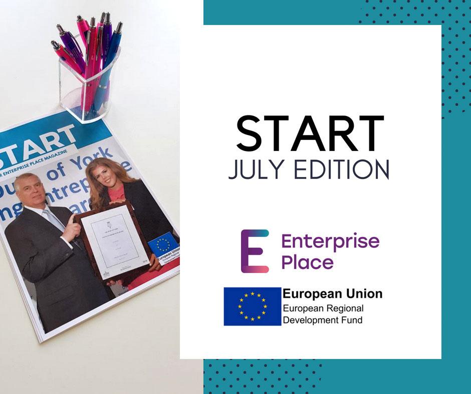 Image of Start magazine July edition