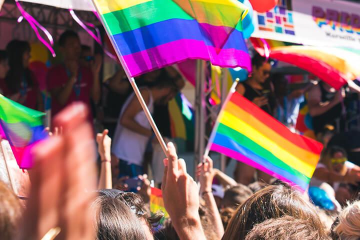 A LGBTQ Pride parade