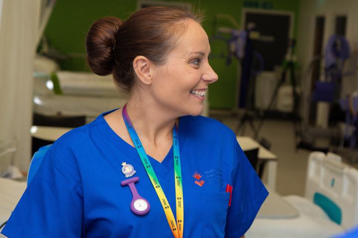 A student nurse