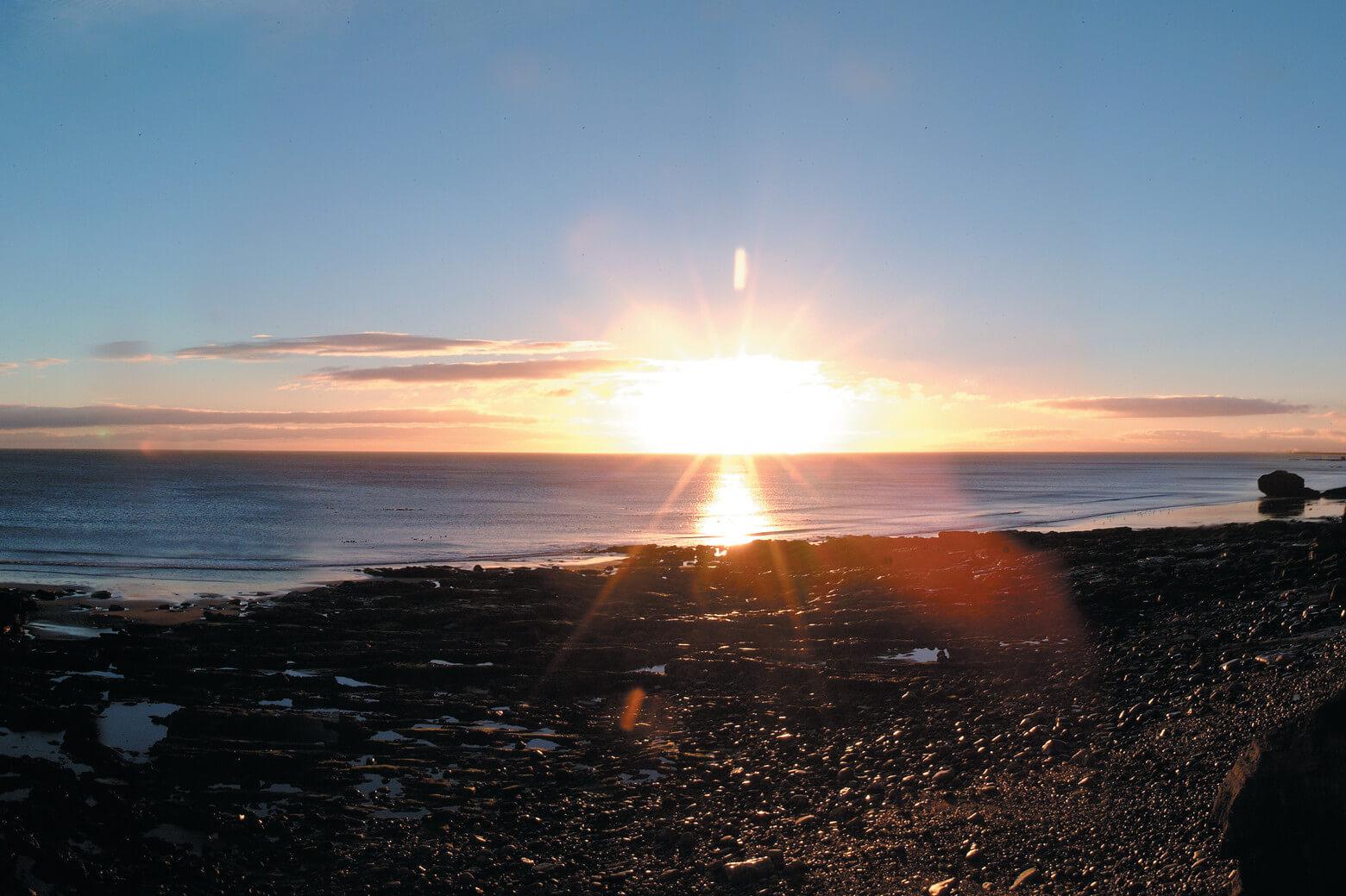 A sunrise in Sunderland