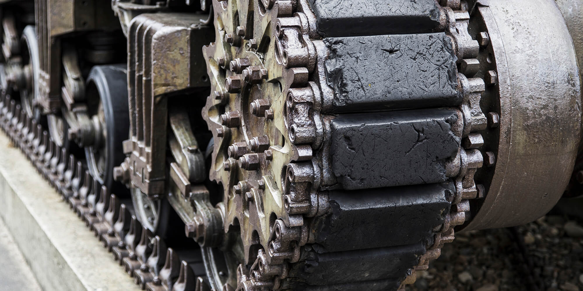 A World War 2 tank