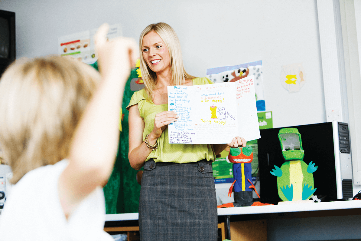 Claire Rushworth, primary education graduate