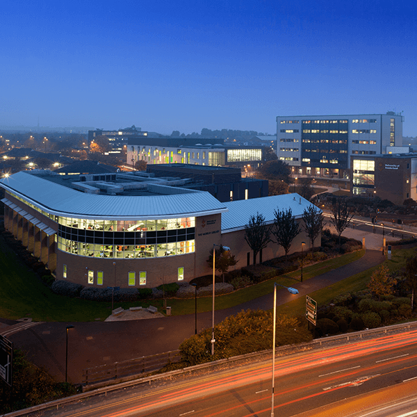 City Campus by night