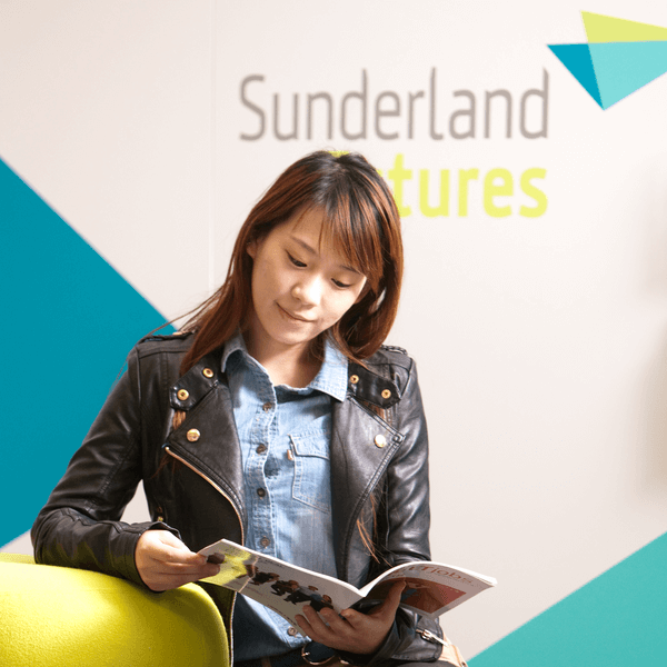 Student in the Sunderland Futures department