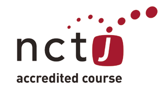 NCTJ Accredited Course Logo