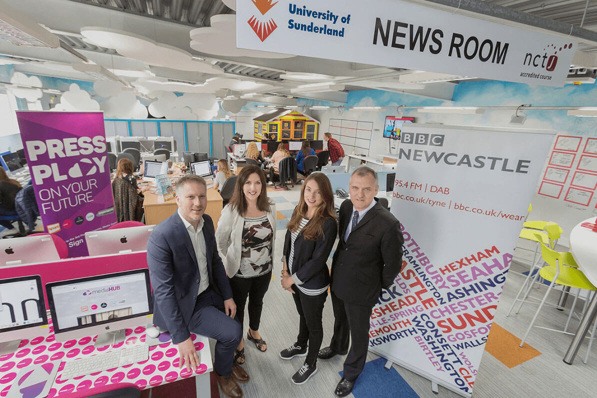 BBC Newcastle in our mediaHUB