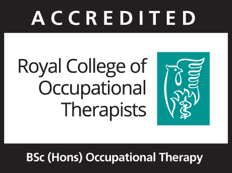 RCOT accredited logo