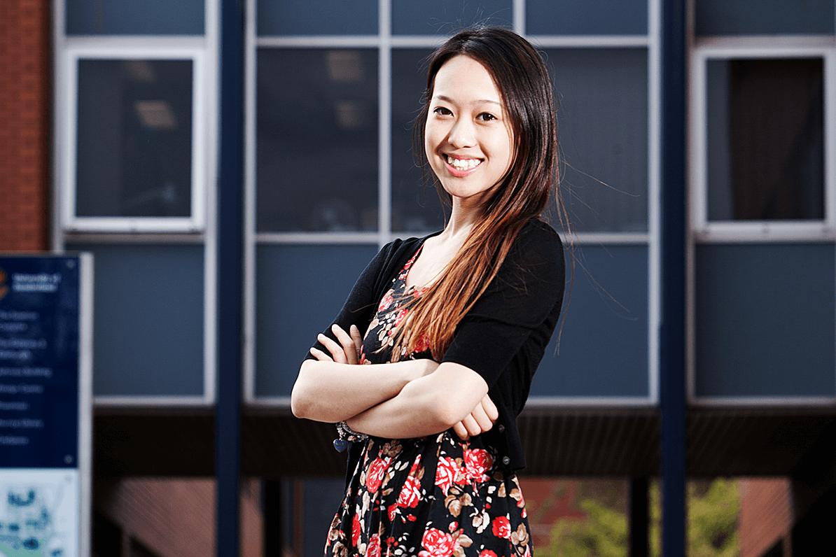 Natasha Kam, former pharmacy student